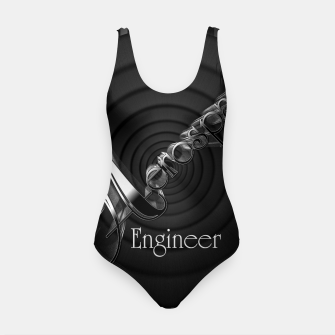 Thumbnail image of Aerospace Engineer Deco Flare Swimsuit, Live Heroes