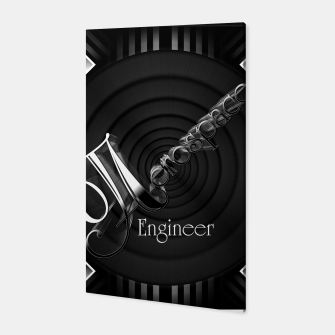 Aerospace Engineer Deco Flare Canvas thumbnail image