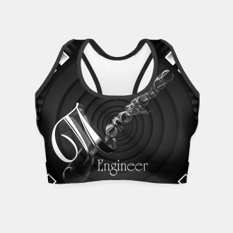 Aerospace Engineer Deco Flare Crop Top thumbnail image