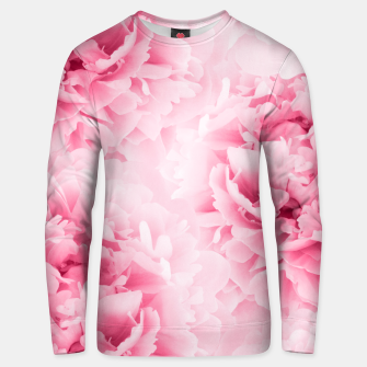 Light Red Peonies Dream #1 #floral #decor #art Baumwoll sweatshirt thumbnail image