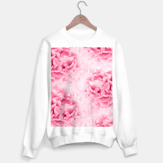 Light Red Peonies Dream #1 #floral #decor #art Sweatshirt regulär thumbnail image