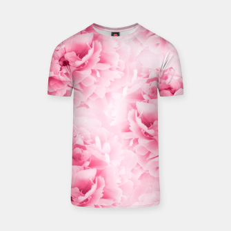 Light Red Peonies Dream #1 #floral #decor #art T-Shirt thumbnail image