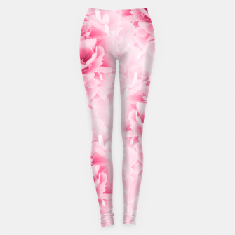 Light Red Peonies Dream #1 #floral #decor #art Leggings thumbnail image