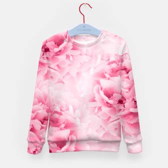 Light Red Peonies Dream #1 #floral #decor #art Kindersweatshirt thumbnail image