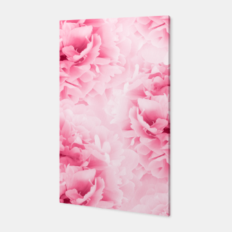 Light Red Peonies Dream #1 #floral #decor #art Canvas thumbnail image