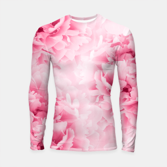 Light Red Peonies Dream #1 #floral #decor #art Longsleeve rashguard thumbnail image