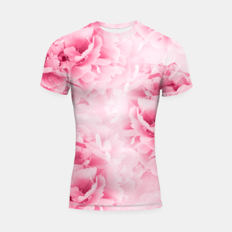 Light Red Peonies Dream #1 #floral #decor #art Shortsleeve rashguard thumbnail image