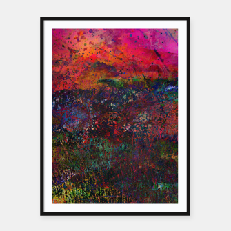 Thumbnail image of Purple Sky Framed poster, Live Heroes