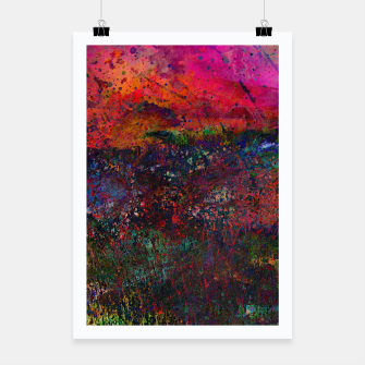 Thumbnail image of Purple Sky Poster, Live Heroes