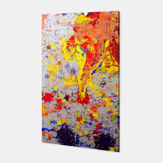 Thumbnail image of Colour Splash Acryl Painting Canvas, Live Heroes