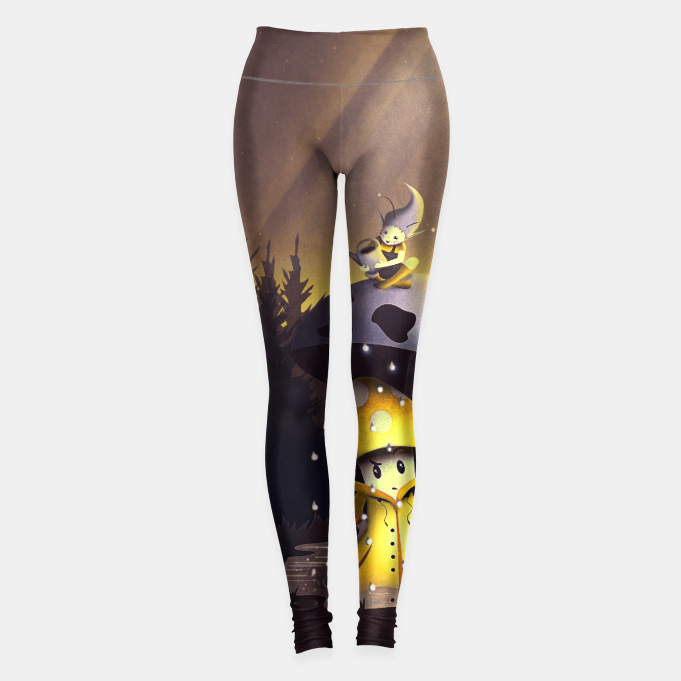 Image of Rain Drops Leggings - Live Heroes