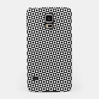Thumbnail image of Black White Squares Within Squares Samsung Case, Live Heroes