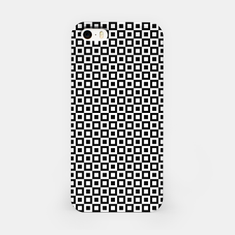 Thumbnail image of Black White Squares Within Squares iPhone Case, Live Heroes