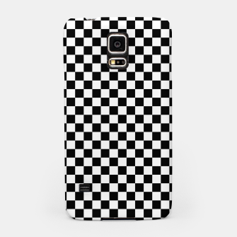 Thumbnail image of Black White Checker Board Pattern Samsung Case, Live Heroes