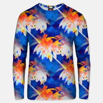 Thumbnail image of Coconut Palms Tropical Sunset Cotton sweater, Live Heroes