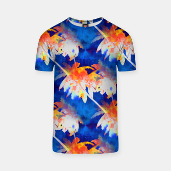 Thumbnail image of Coconut Palms Tropical Sunset T-shirt, Live Heroes