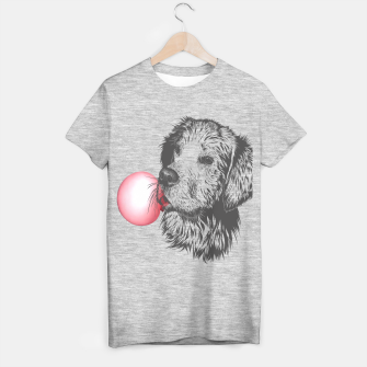 Thumbnail image of Bubble Gum Dog T-shirt regular, Live Heroes