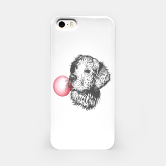 Thumbnail image of Bubble Gum Dog iPhone Case, Live Heroes