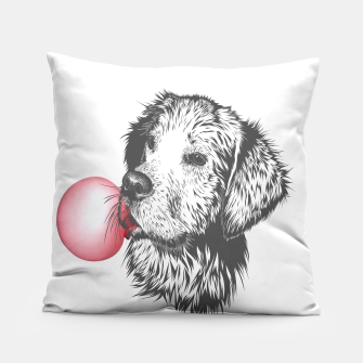 Thumbnail image of Bubble Gum Dog Pillow, Live Heroes