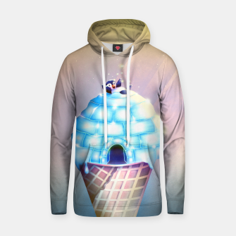 Thumbnail image of Igloo Flavour Baumwoll Kapuzenpullover, Live Heroes