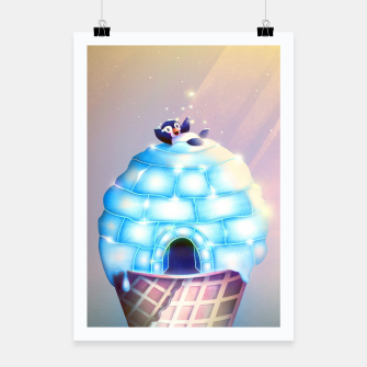 Thumbnail image of Igloo Flavour Plakat, Live Heroes