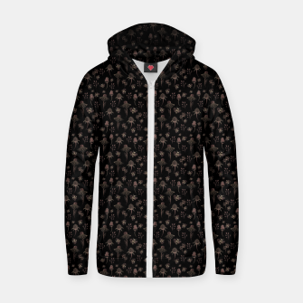 Thumbnail image of Enchanted Garden Cotton zip up hoodie, Live Heroes