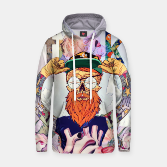 Thumbnail image of Hipster Cotton hoodie, Live Heroes