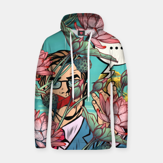 Thumbnail image of Keeping Mouth Shut Cotton hoodie, Live Heroes