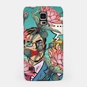 Thumbnail image of Keeping Mouth Shut Samsung Case, Live Heroes