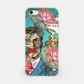 Thumbnail image of Keeping Mouth Shut iPhone Case, Live Heroes
