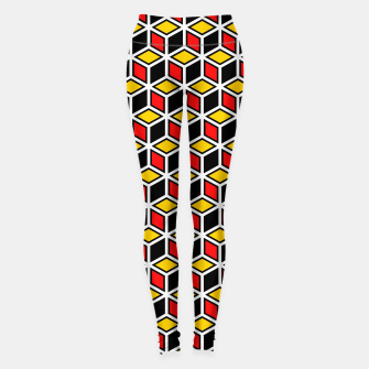 Thumbnail image of Isometric Cubic Lines - 10 Leggings, Live Heroes
