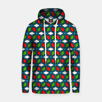 Thumbnail image of Isometric Cubic Lines - 11 Cotton hoodie, Live Heroes