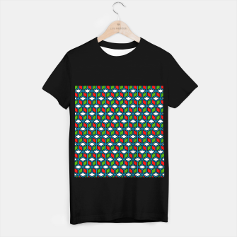Thumbnail image of Isometric Cubic Lines - 11 T-shirt regular, Live Heroes
