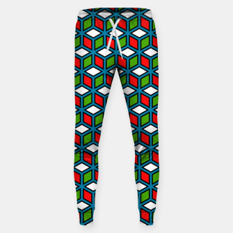 Thumbnail image of Isometric Cubic Lines - 11 Cotton sweatpants, Live Heroes