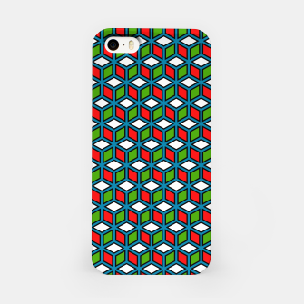 Thumbnail image of Isometric Cubic Lines - 11 iPhone Case, Live Heroes