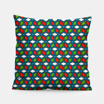 Thumbnail image of Isometric Cubic Lines - 11 Pillow, Live Heroes