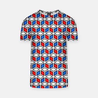 Thumbnail image of Isometric Cubic Lines - 12 T-shirt, Live Heroes