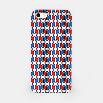 Thumbnail image of Isometric Cubic Lines - 12 iPhone Case, Live Heroes