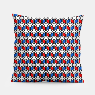 Thumbnail image of Isometric Cubic Lines - 12 Pillow, Live Heroes