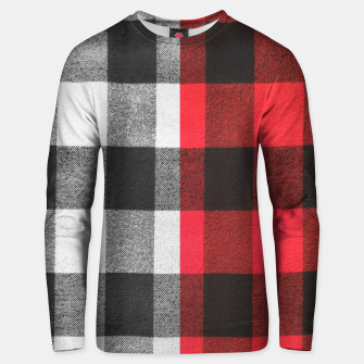 Thumbnail image of Two colors flannel Cotton sweater, Live Heroes