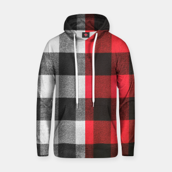 Thumbnail image of Two colors flannel Cotton hoodie, Live Heroes