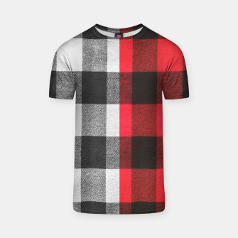 Thumbnail image of Two colors flannel T-shirt, Live Heroes
