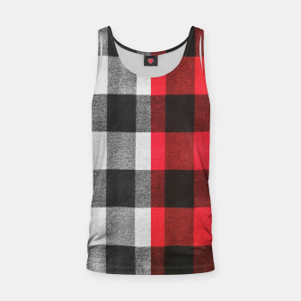 Thumbnail image of Two colors flannel Tank Top, Live Heroes