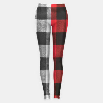 Thumbnail image of Two colors flannel Leggings, Live Heroes