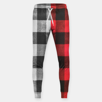 Thumbnail image of Two colors flannel Cotton sweatpants, Live Heroes