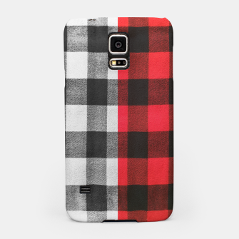 Thumbnail image of Two colors flannel Samsung Case, Live Heroes