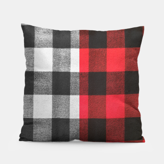 Thumbnail image of Two colors flannel Pillow, Live Heroes