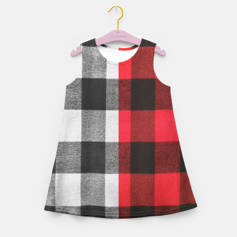 Thumbnail image of Two colors flannel Girl's summer dress, Live Heroes