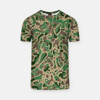 Thumbnail image of Sprawl Camo Sandy Style ‐ Tee, Live Heroes