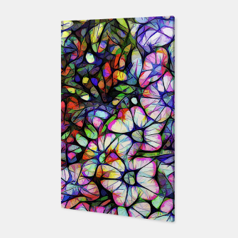 Thumbnail image of Glass Petunias Canvas, Live Heroes